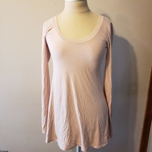 Boston proper women sz xs long sleeve basic top